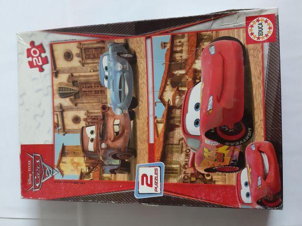 Puzzle - Cars 2 Disney Pixar - 2 Puzzles