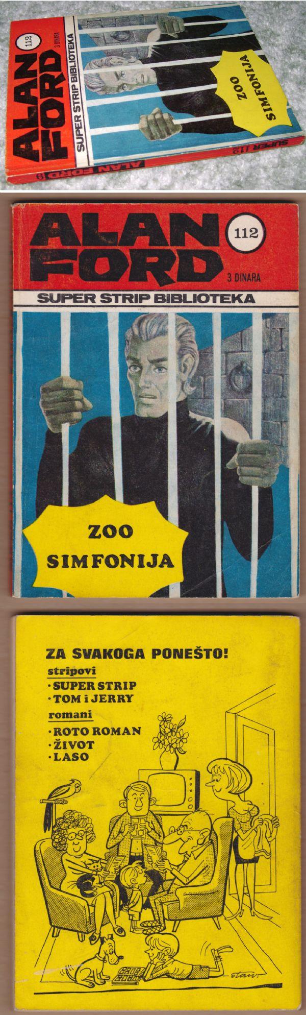 ALAN FORD #9. ZOO SIMFONIJA (SUPER STRIP BIBLIOTEKA #112)