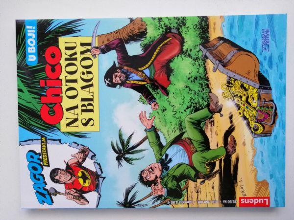Chico kolor 12 - Chico na otoku s blagom (Ludens)