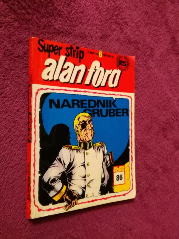 ALAN FORD Superstrip br. 86 Narednik Gruber  (4+)