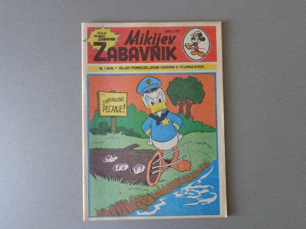 MIKIJEV ZABAVNIK Br 171 1978 GOD.  ( - 5 / 5 )