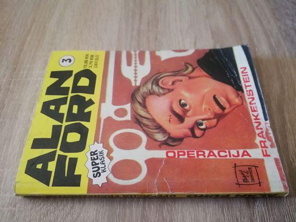 Alan Ford super klasik 3 - Operacija Frankenstein (Strip agent)