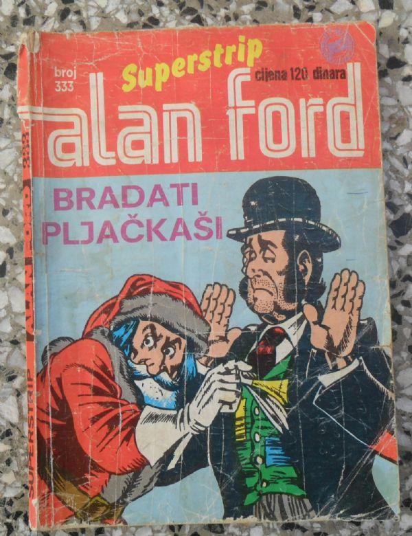 Alan Ford SS 333 - BRADATI PLJAČKAŠI