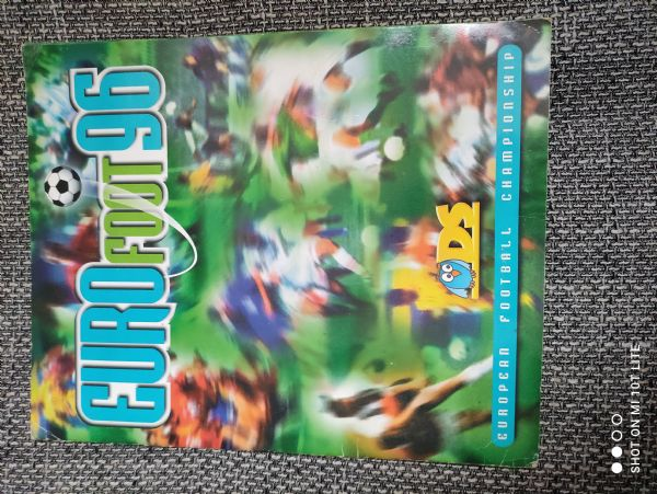 Euro foot 96 made in Italy 1996