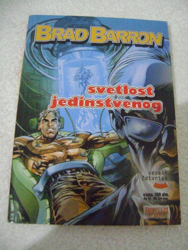 BRAD BARRON 7 - SVETLOST JEDINSTVENOG - VESELI ČETVRTAK