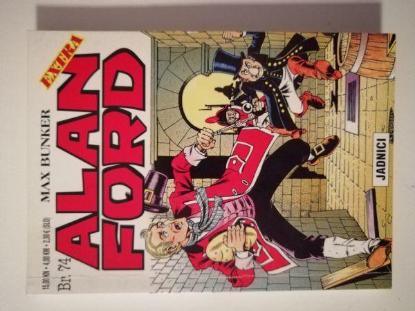 Alan Ford extra 74 - Jadnici (Strip agent)