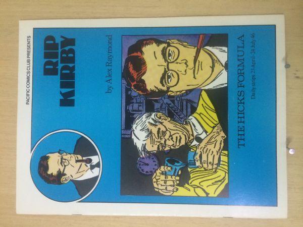 RIP KIRBY - PACIFIC COMIC CLUB  br.  2