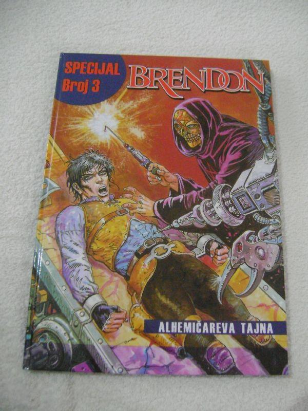 BRENDON SPECIJAL 3 HC - ALHEMIČAREVA TAJNA - FORMA B