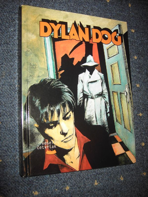 Biblioteka Dylan Dog VČ  knjiga br.7  (-5/5) HC