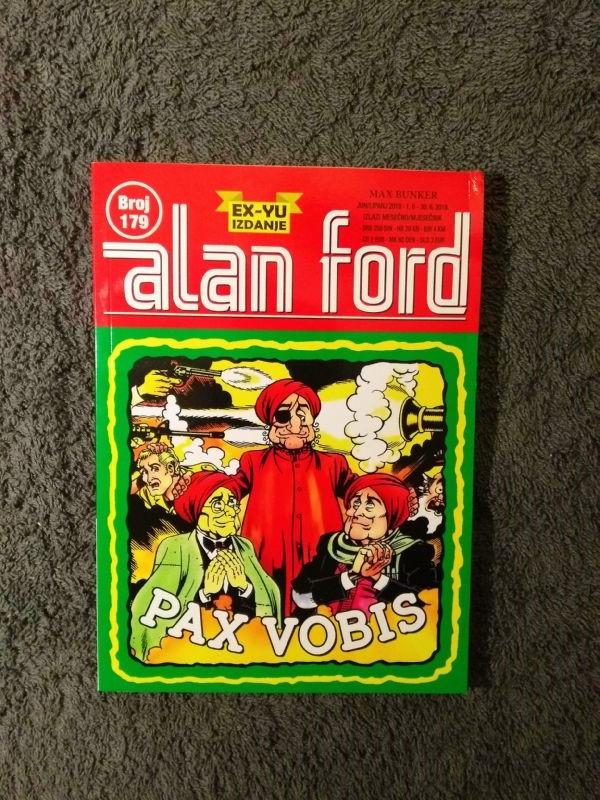 ALAN FORD Svet 179 Pax vobis (5/5-)