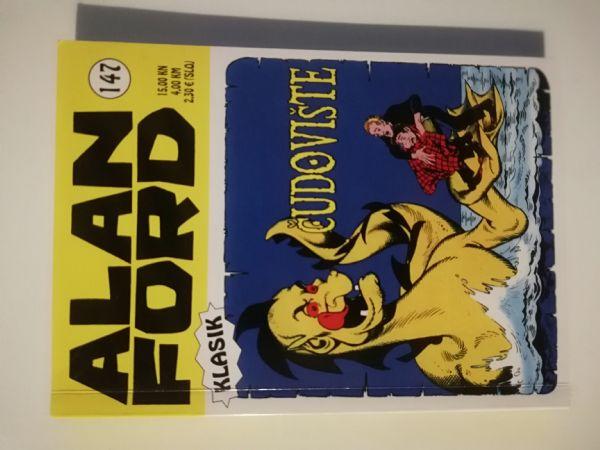 Alan Ford klasik 147 - Čudovište (Strip agent)