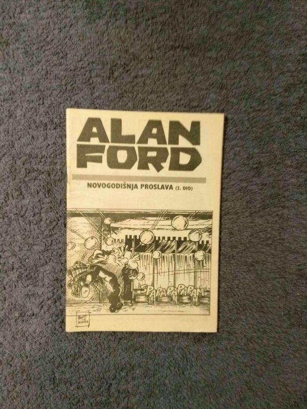 Alan Ford Prilog Večernjeg lista - Novogodišnja proslava II.dio (5/5-)