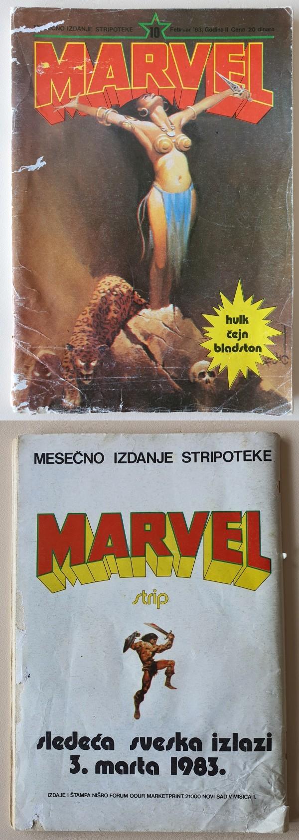 Marvel 10 (Forum-Marketprint)