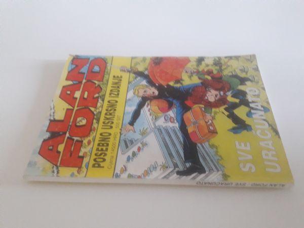 Alan Ford specijal (veći format) - Sve uračunato (Borgis)