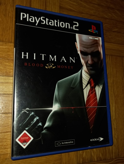 Hitman Blood money Playstation 2 PS2