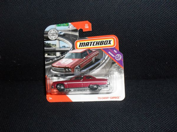 CHERVOLET CAPRICE  ´75 - car legend matchbox