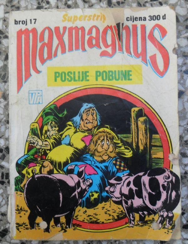 Maxmagnus Superstrip br. 17 - Poslije pobune