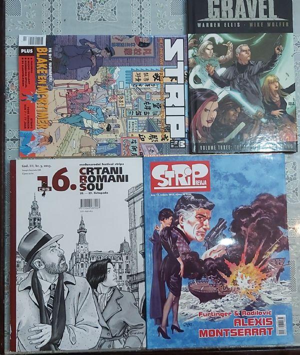 Mini lot raznih strip revija i HC album