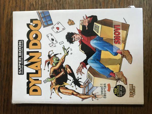 DYLAN DOG - SUPER BOOK BR.4. SNOVI