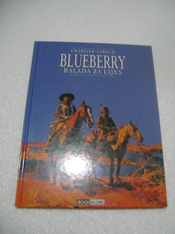 BLUEBERRY 15- BALADA ZA LIJES - BOOKGLOBE