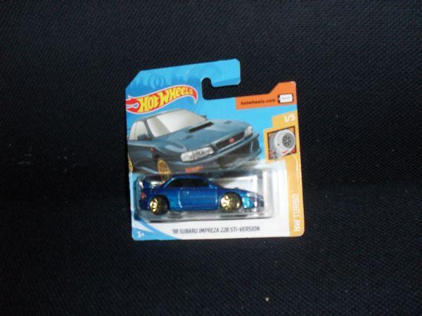 SUBARU IMPREZA 228 STI ¨98 - car legend hot wheels