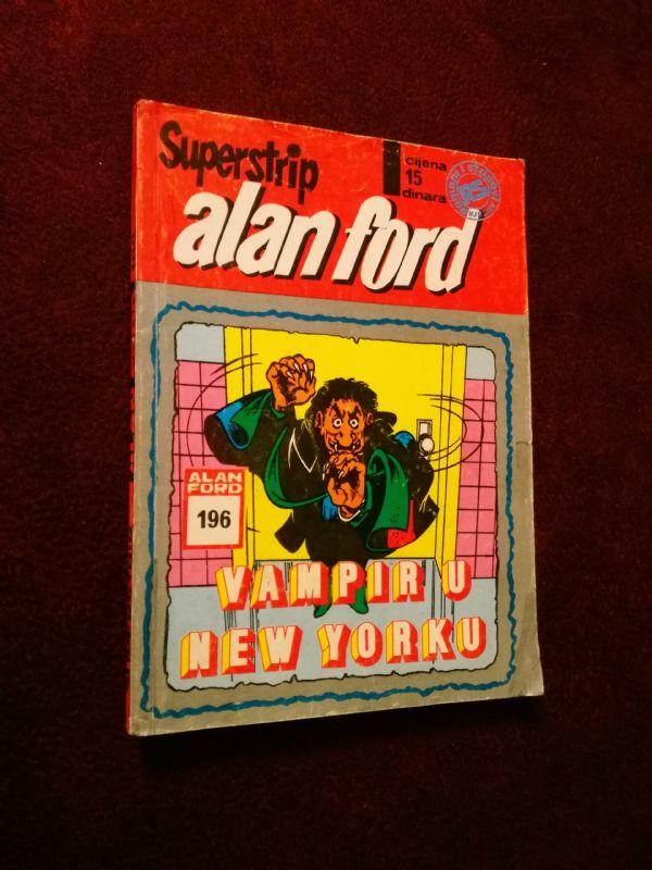 ALAN FORD SUPERSTRIP BR. 196 - Vampiri u New Yorku