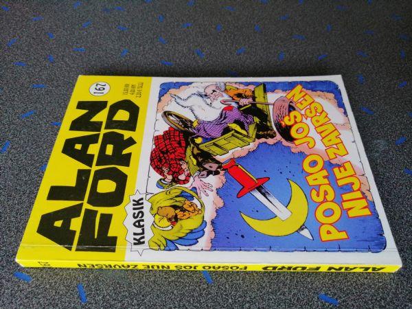 Alan Ford klasik 167 -  Posao još nije završen (Strip agent)