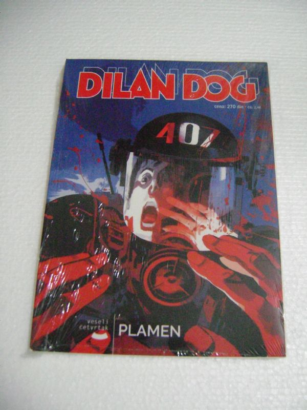 DYLAN DOG 164 - PLAMEN - VESELI ČETVRTAK