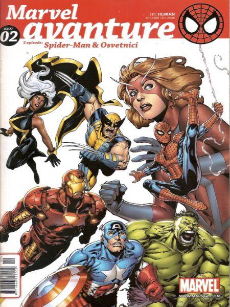Marvel Avanture/ Spider-man & Osvetnici - br. 2