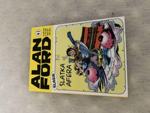 Alan Ford Klasik br. 41 Slatka afera