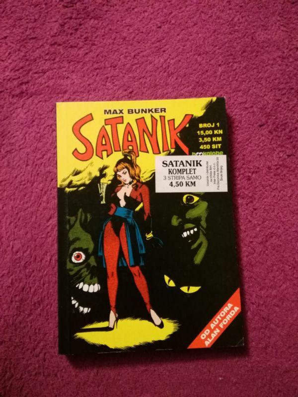 Satanik Bookglobe br. 1
