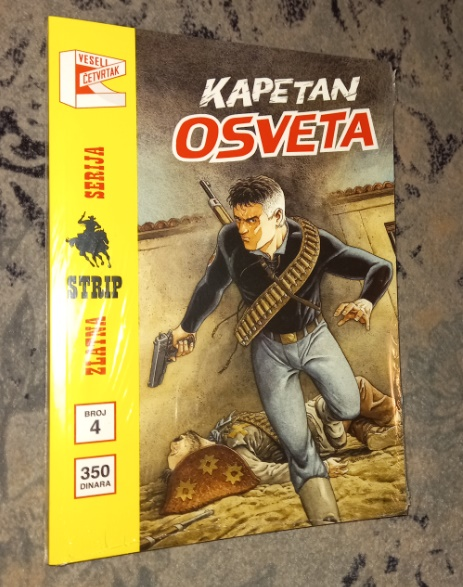 Nova Zlatna serija Vč br.4 Kapetan osveta korica B