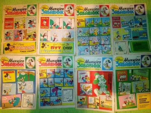 LOT Mikijev zabavnik - 115 komada