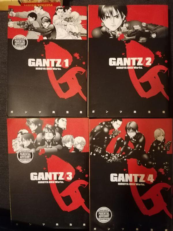 Manga Gantz 1-4