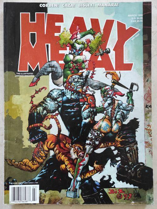 Heavy Metal March 99