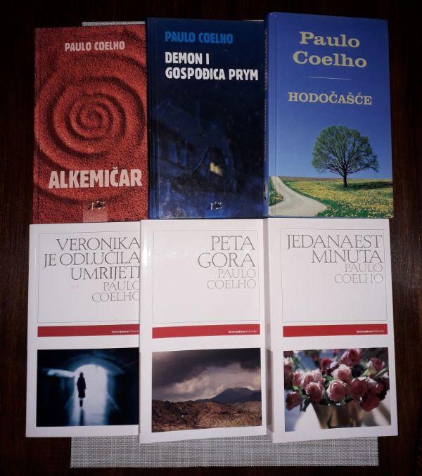 Paulo Coelho, lot 6 knjiga (P)