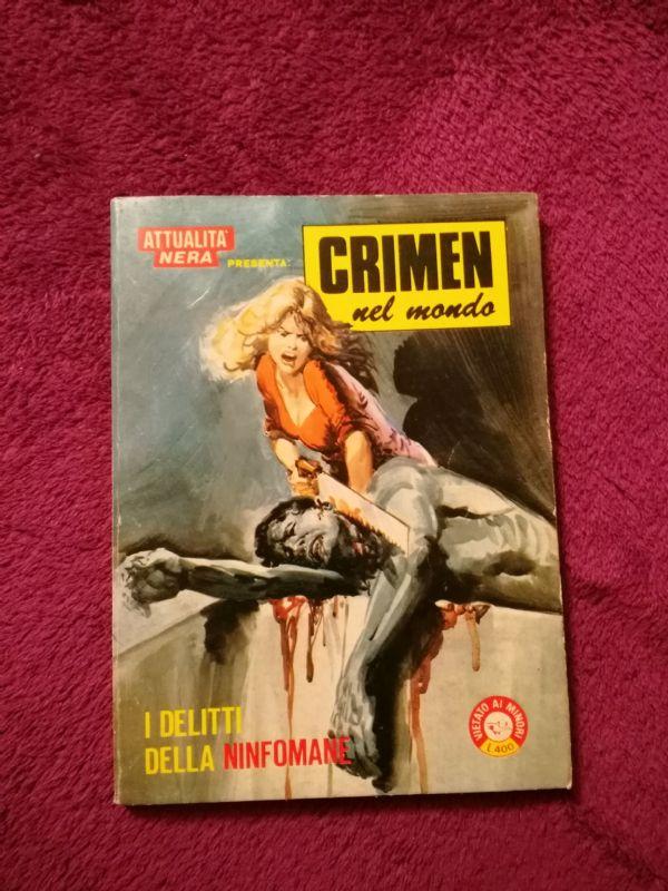 Crimen Nel Mondo - I delitti della Ninfomane - talijanski erotski strip (5-)