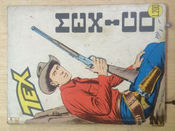 TEX - br 64  -.-  TALIJANSKO IZDANJE