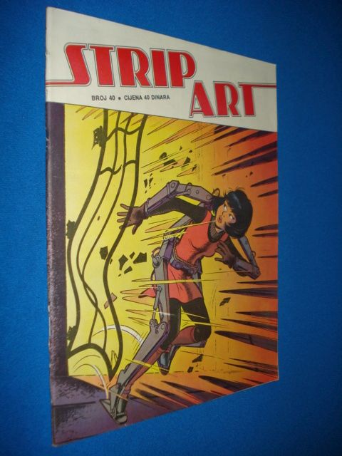 STRIP ART br. 40