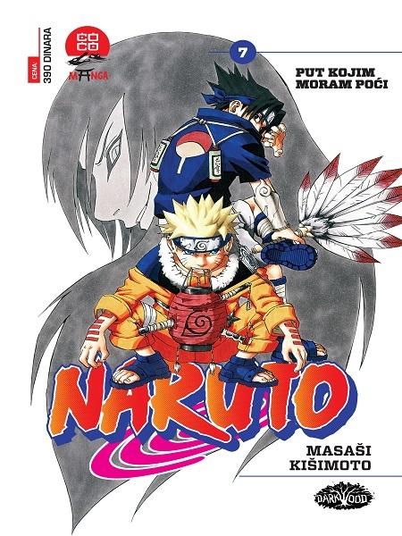 NARUTO  (Manga) br. 7