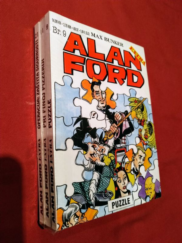 Lot  ALAN FORD  EXTRA  br: 9,11,21   (-5)