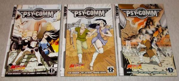 Psy-comm komplet 1-3