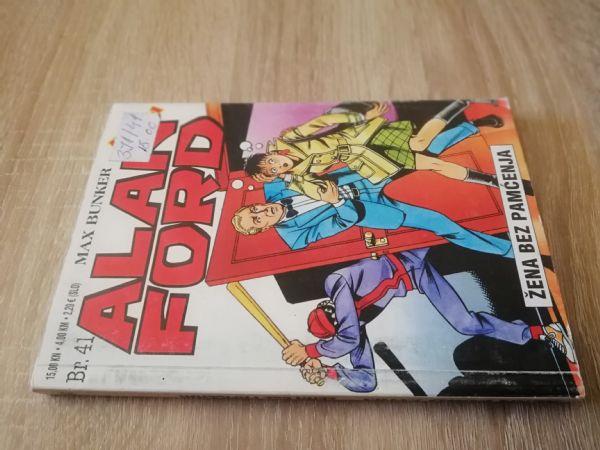 Alan Ford extra 41 - Žena bez pamćenja (Strip agent)