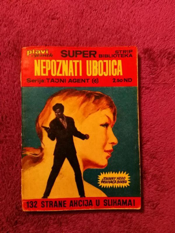 Super Strip Biblioteka br.17 (6) TAJNI AGENT Johnny Nero: Nepoznati ubojica (4+)