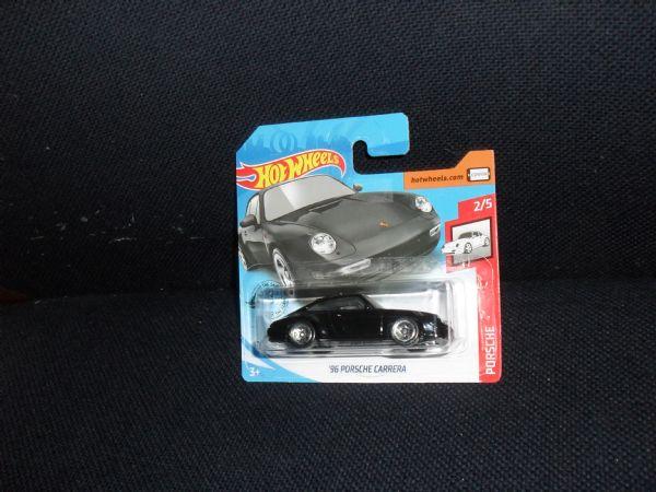 PORSCHE CARRERA ¨96 (black) - car legend hot wheels