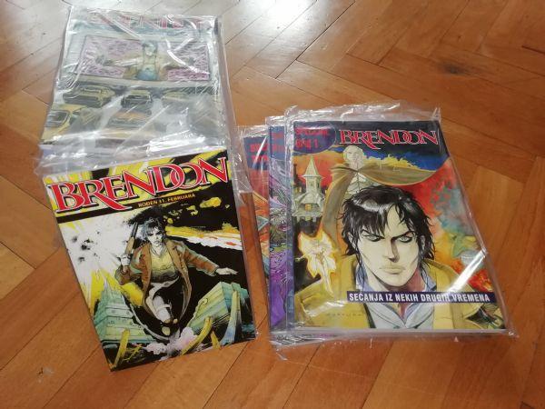 BRENDON Malagma comics/Forma B 1-32 & Specijal 1-3