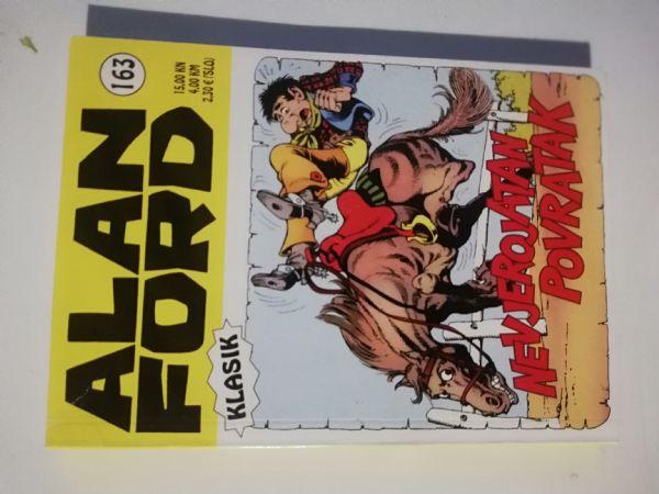 Alan Ford klasik 163 - Nevjerojatan povratak (Strip agent)