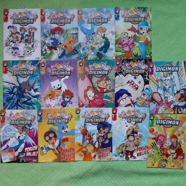 LOT Digimon 14 komada
