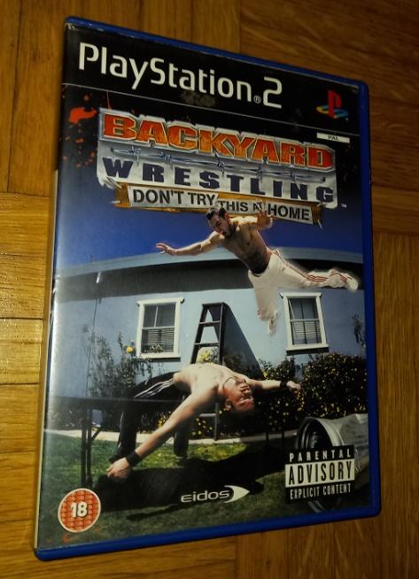 Backyard wrestling Playstation 2 PS2