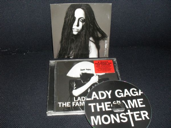 CD LADY GAGA - THE FAME MONSTER (+5)